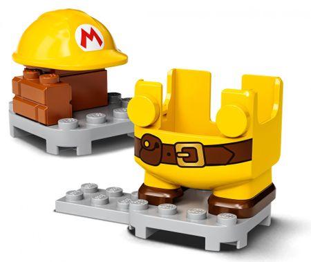LEGO Super Mario™ 71373 Stavitel Mario – ágyneműhuzat
