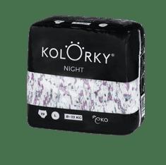 KOLORKY Kolorky Night - velikost L, 19ks