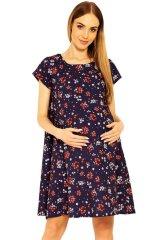 PeKaBoo Těhotenské šaty Penny s květy