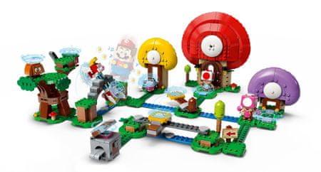 LEGO® Super Mario™ 71368 Toad kincsvadászata - kiegészítő készlet