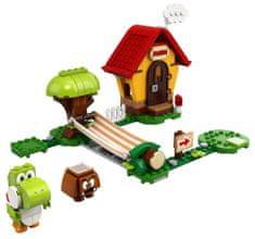 LEGO® Super Mario™ 71367 Mario háza és Yoshi - kiegészítő készlet