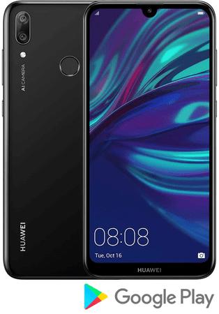Huawei GSM telefon Y7 2019, 3GB/32GB, crni