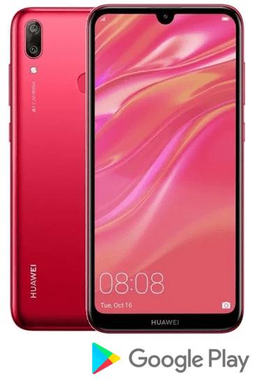 Huawei Y7 2019, 3GB/32GB, Coral Red