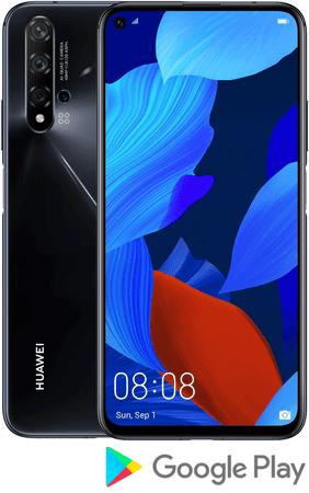 Huawei nova 5T, 6 GB/128 GB GSM telefon, crni