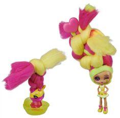 Spin Master CandyLocks voňavá bábika Lemon Lou Twist