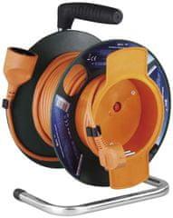 EMOS przedłużacz PVC na bębnie – gniazdo, 25 m, 1,5 mm2 1908012501