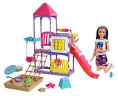 Mattel Barbie Opatrovateľka na ihrisku Herný set