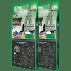 Bon Appétit BON APPÉTIT DOG ADULT MAXI 2x 12 kg - cenově výhodné dvojbalení krmiva pro dospělé psy velkých a obřích plemen (nad 30 kg)