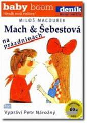 Miroslav Musil: Mach a Šebestová na prázdninách - CD