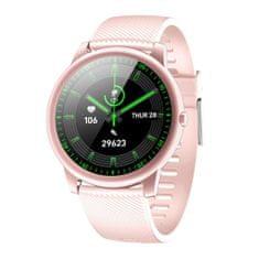 NEOGO Even 4, chytré hodinky, růžové