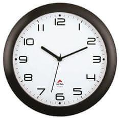 """Alba Nástěnné hodiny """"Hornew"""", 30 cm, černé"""