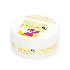 Body Be BodyBe Opalovací máslo SPF10 s třpytivým efektem - Banán v čokoládě, 150ml