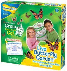 Insect Lore Motýlí zahrádka (3-5 housenek) - Butterfly Garden