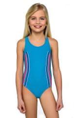 LORIN Dívčí plavky Klárka modré