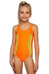 LORIN Dívčí plavky Klárka neonové