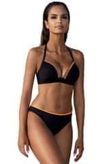 LORIN Dvoudílné push-up plavky Wendy černé