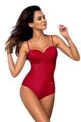 GABBIANO Červené jednodílné plavky Karen