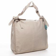 DIANA & CO Trendová dámská kabelka Diana Florencie, béžová