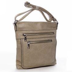 Romina & Co. Bags Moderní dámská crossbody kabelka La vida, soil