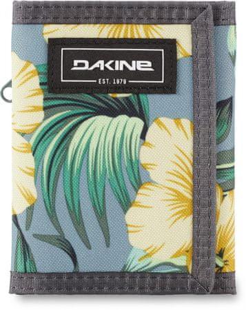 Dakine denarnica Vert Rail Wallet Hibiscus Tropical, unisex, modra