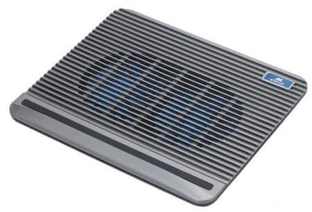 "RivaCase chłodząca podstawka pod laptopa do 15,6"", srebrna 5555-S"