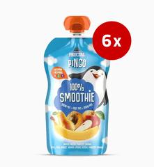 Fructal Pingo Smoothie, hruška, marelica, 6 x 110 g