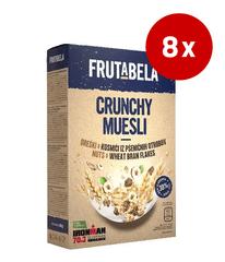 Fructal Frutabela Muesli, oreški, otrobi, 8 x 350 g