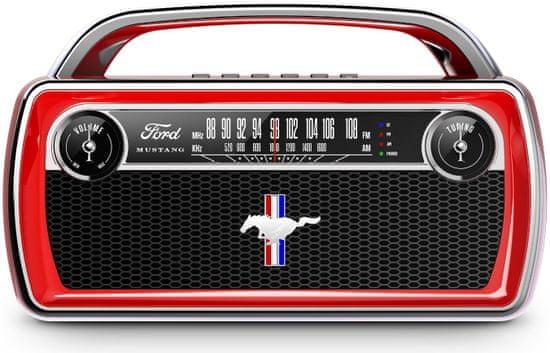 iON Mustang Stereo, červená