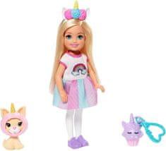 Mattel Barbie Chelsea Egyszarvú jelmezben