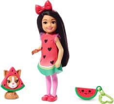 Mattel Barbie Chelsea v kostýme Melón
