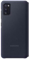 SAMSUNG Flipové puzdro S View Wallet Cover pre Samsung Galaxy A41 EF-EA415PBEGEU, čierna