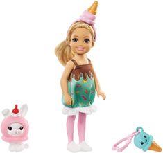 Mattel Barbie Chelsea v kostýme Zmrzlina