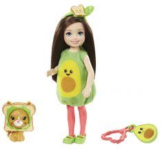 Mattel Barbie Chelsea v kostýme Avokádo