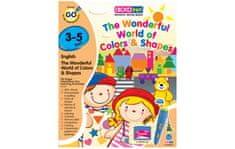 Crocolearn Knižka - The Wonderful World of Colors & Shapes (3-5 rokov)