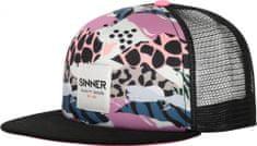 SINNER czapka damska Animal Camo Pink/Blue SIWE-501-70