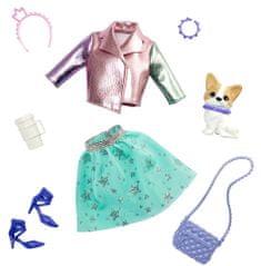 Mattel Barbie Princess Adventure Állatka és ruha Kutya kiegészítőkkel