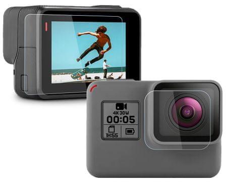 GoSport Védőfólia Hero 5 6 7 kamerákhoz