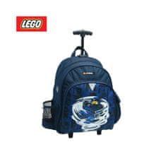 LEGO Ninjago Spinjatzu Jay šolski nahrbtnik, s kolesci