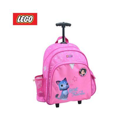LEGO Ninjago Emma and Chico šolski nahrbtnik, s kolesci