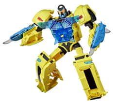 Transformers Hangra érzékeny Cyberverse BumbleBee játékfigura