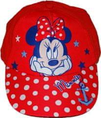 Disney Červená kšiltovka Minnie