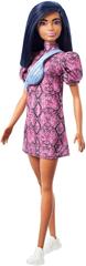 Mattel Barbie Modelka 143 - Šaty so vzorom hadej kože