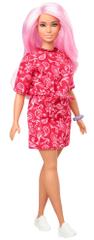 Mattel Barbie Modelka 151 - Sukienka ze wzorem chustki