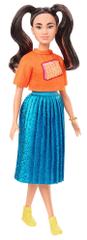 Mattel Barbie Modelka 145 - Pastelové šaty
