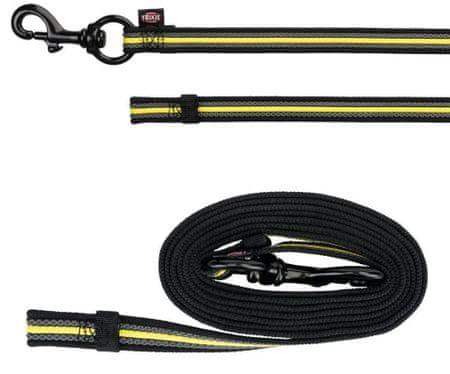 Trixie Sporting fusion training póráz s-l 2 m / 17mm fekete /