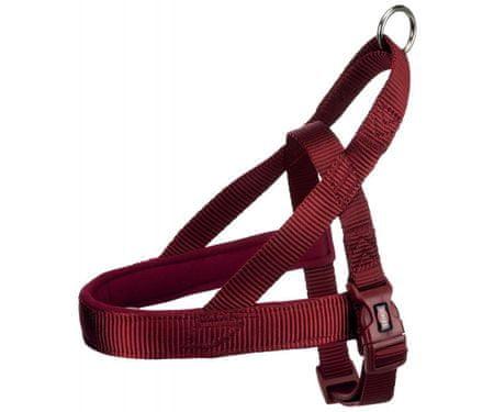 Trixie Uprząż premium comfort 30-50cm / 25mm (s-m), - czerwona