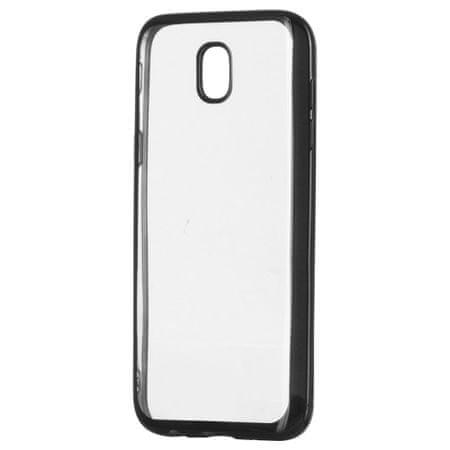 MG Silikonski ovitek Metalic Slim za Samsung Galaxy J3 2017 Črna