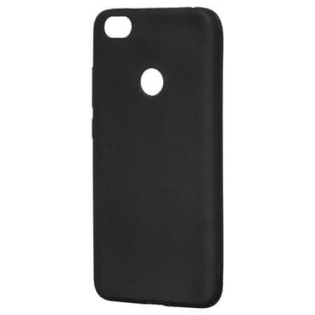 MG Silikonski ovitek Soft Matt za Xiaomi Redmi Note 5A Črna