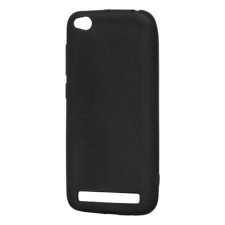 MG Silikonski ovitek Soft Matt za Xiaomi Redmi 5A Črna