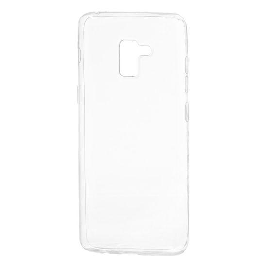 MG Gumené púzdro Ultra Slim 0,3 mm pre Samsung Galaxy A8 Plus 2018 priesvitné